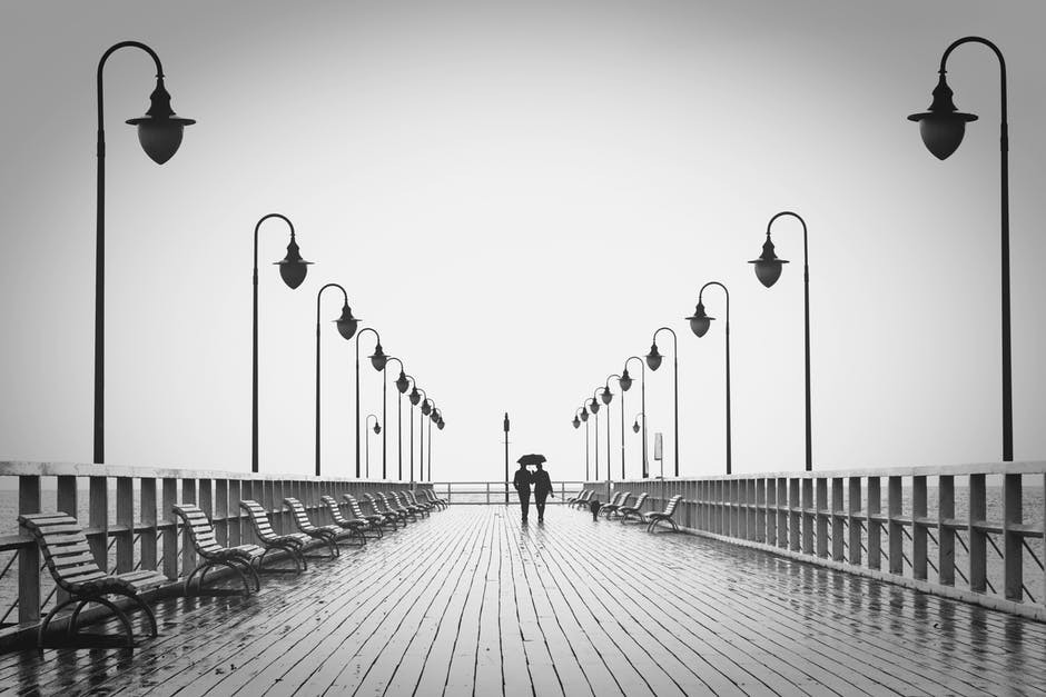 Is There A Connection Between Happiness And Health - Couple on Bridge