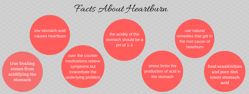 Facts About Heartburn Infographic