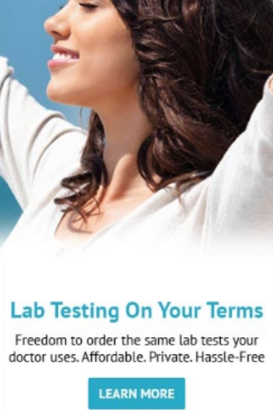 true health labs banner