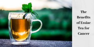 tea with mint sprig