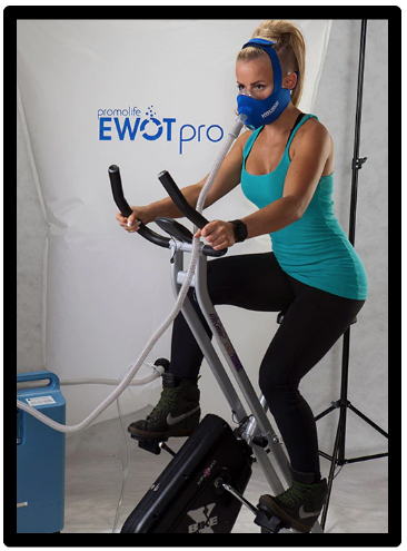 The Benefits Of EWOT - Girl On Bike With Oxygen