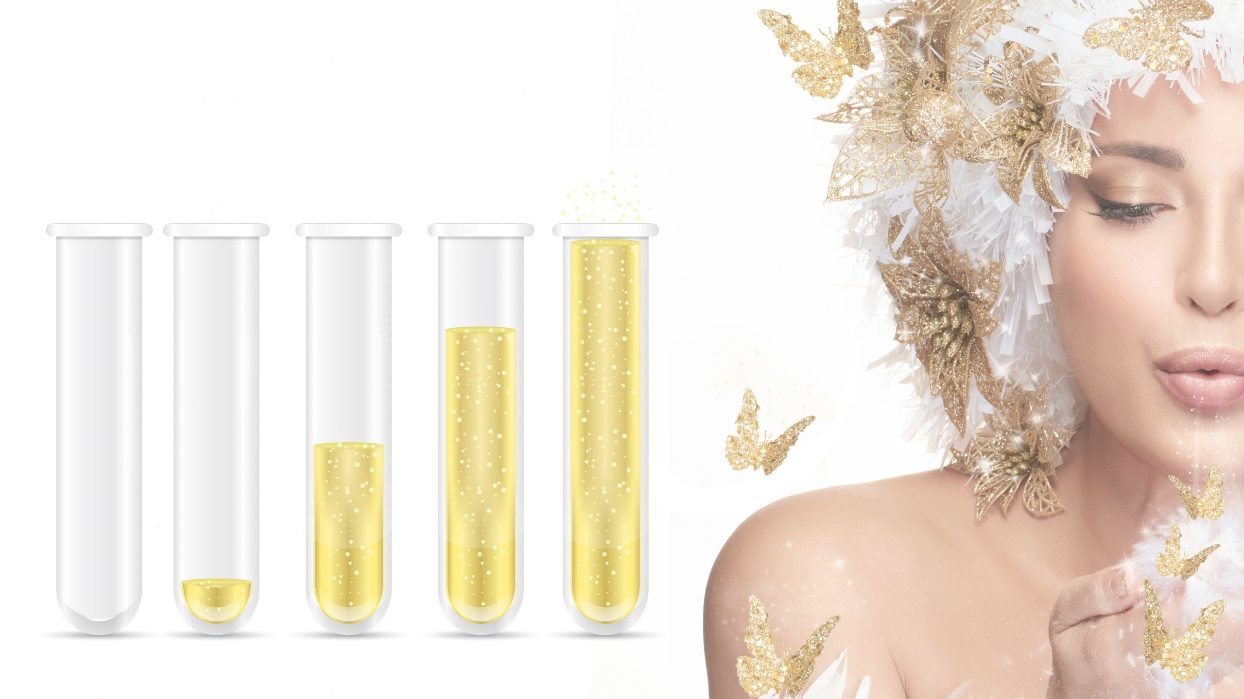 Empowering Women With Breast Cancer - Gold Lab Vials