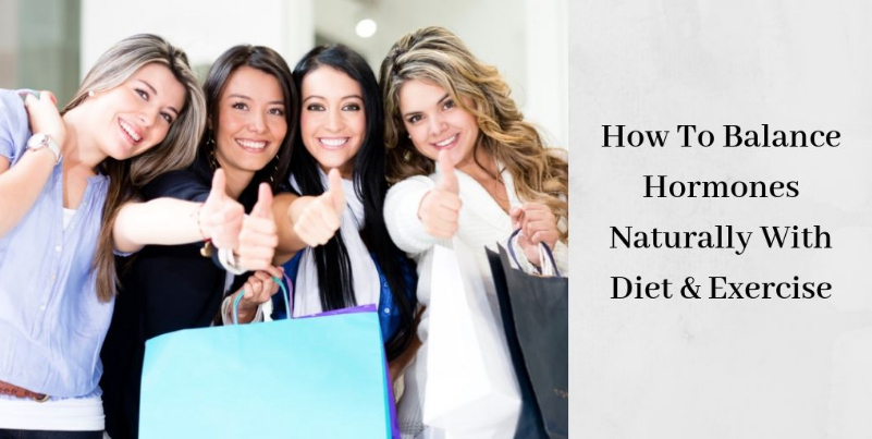 How To Balance Hormones Naturally - Four Women With Thumbs Up