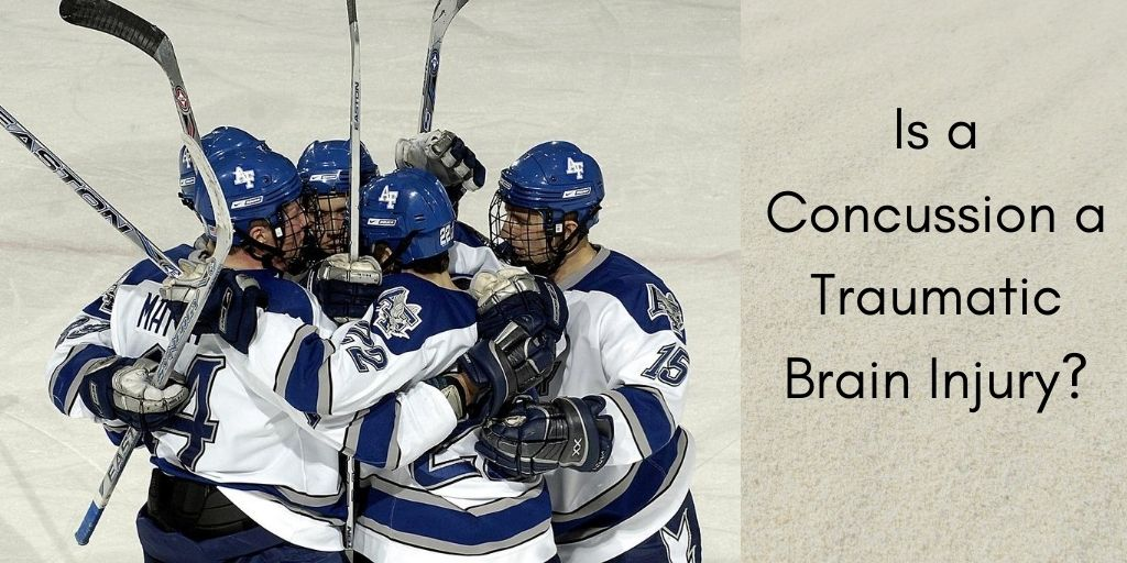 Is A Concussion A Traumatic Brain Injury? - Hockey Players