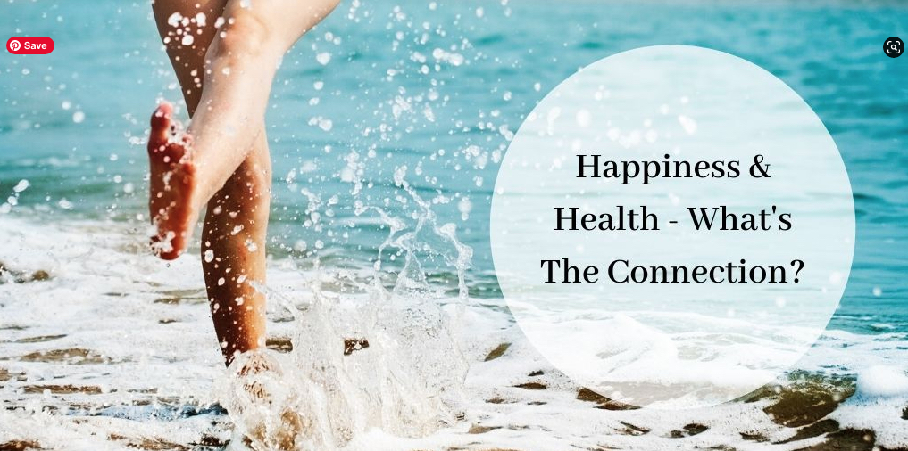 Happiness And Health - Woman in Ocean