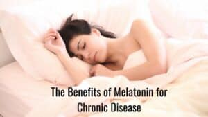 The Benefits of Melatonin - Woman Sleeping
