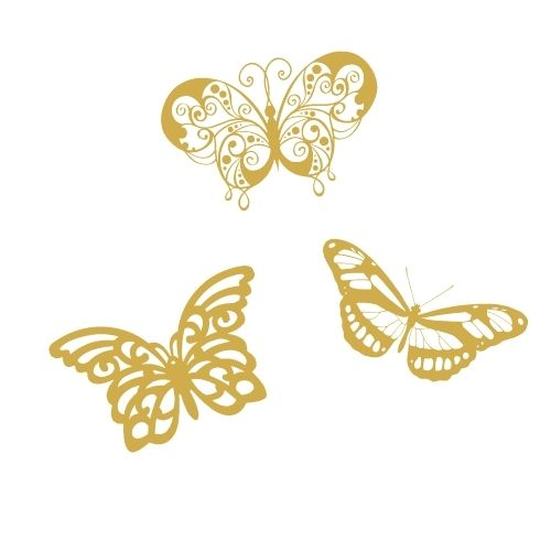 Empowering Women with Breast Cancer - Three Gold Butterflies