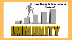 How Strong Is Your Immune System - Immunity Graphic