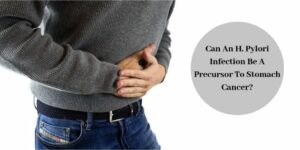H Pylori Bacterial Infection - Man With Stomach Ache