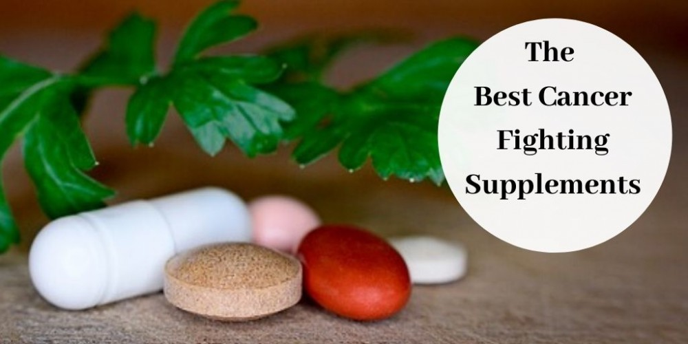 The Best Cancer Fighting Supplements - Various Colored Pills