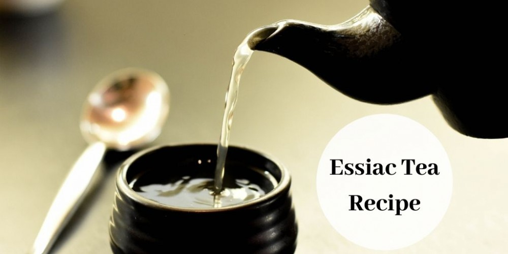 essiac tea recipe - teapot pouring tea