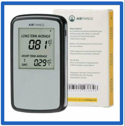 Facts About Radon Gas And Lung Cancer - Airthings Home Radon Detector