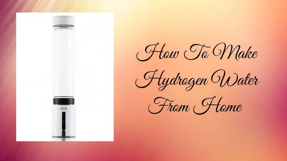 How To Make Hydrogen Water - Promolife Hydrogen Water Generator