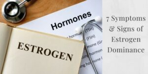 "the word ""Hormones"" and ""Estrogen"""