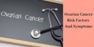 "the words ""ovarian cancer"" on chalkboard"